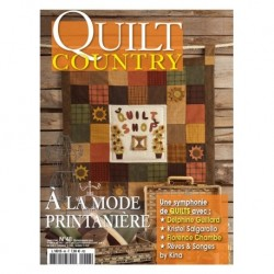 Quilt Country 48 - A la mode printanière