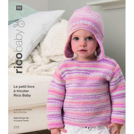 Le petit livre à tricoter Rico Baby n°18
