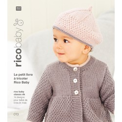 Le petit livre à tricoter Rico Baby n°13
