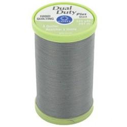 Bobine de 297m de fil Dual Duty à quilter - gris (Coloris 620)