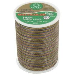 Bobine de 228m de fil multicolor Dual Duty à quilter - brun (Coloris 811)