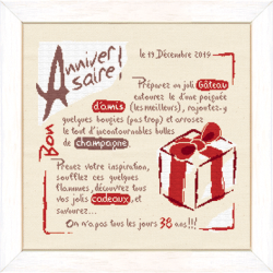La recette d'Anniversaire (réf. F008)