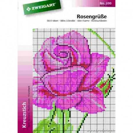 """Catalogue de modèles """"Roses"""""""