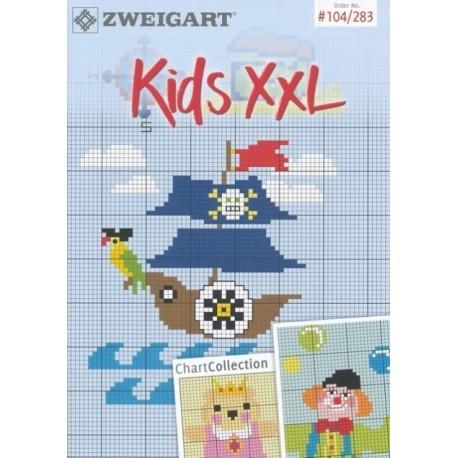 Zweigart - Catalogue No. 283 - Idées à broder - Kids XXL