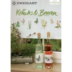 Zweigart - Catalogue No. 278 - Idées à broder - Kräuter & Beeren