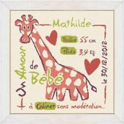 Lilipoints - La Girafe