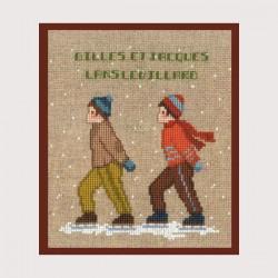 Deux patineurs (ref. 2323)