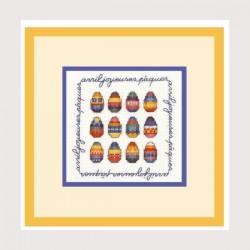 Avril joyeuses pâques (réf. 2229)