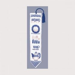 Marque-page Vaisselle Bleue (réf. 4559)