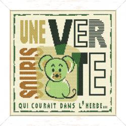 Une souris verte réf. E014
