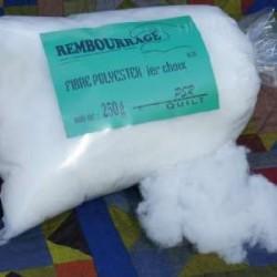 Rembourrage fibre polyester 1er choix poids 250 g