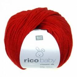 Rico Design - Laine Baby Classic DK - Coloris Rouge ou 009