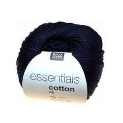 Essentials Cotton DK - Couleur Bleu Marine ou 38