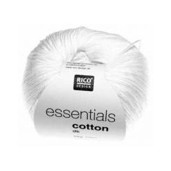 Rico Design - Essentials Cotton DK - Couleur Blanc ou 80