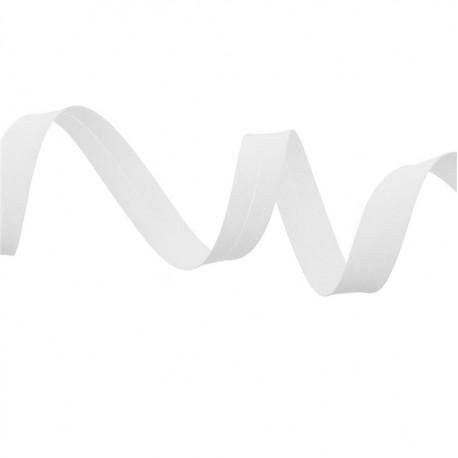 Biais polycoton - Coloris blanc ou 501 (pour 1 m)
