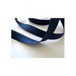 Biais polycoton - Coloris bleu marine ou 2189 (pour 1 m)