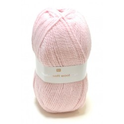 Laine Creative Soft Wool Aran - Coloris Rose ou 011