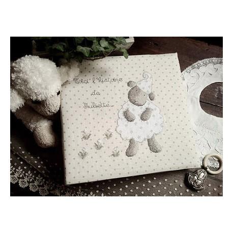 "Protège album photos ""mouton"""