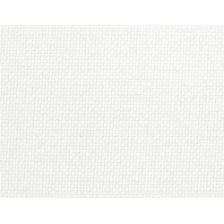 Toile Aïda 7 points/cm Blanc (par 10 cm)