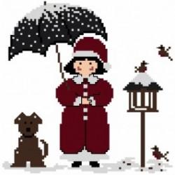 Le petit Monde de Candice - Jour de Neige