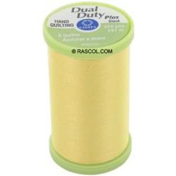 Bobine de 297m de fil Dual Duty à quilter - jaune (Coloris 7330)