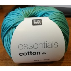 Essentials Cotton DK - Couleur Turquoise foncé ou 71