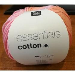 Essentials Cotton DK - Couleur Rose Clair ou 54