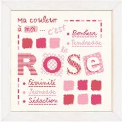 Mes couleurs... Rose