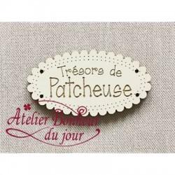 """Bouton """"Trésors de Patcheuse"""""""