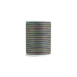 Bobine de 228m de fil multicolor Dual Duty à quilter - Bleu vert multi (Coloris 887)