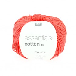 Essentials Cotton DK - Couleur Azalée ou 68