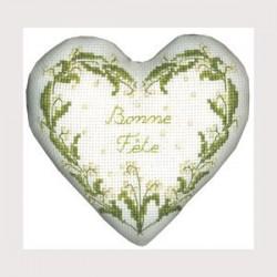 Boîte coeur bonne fête présentation cadeau