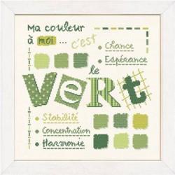 Mes couleurs ....Vert