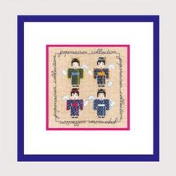 """Le Bonheur des Dames - Miniature """"Japonaises"""""""