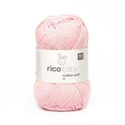 Baby Cotton Soft Pastel Rose 50G/125M