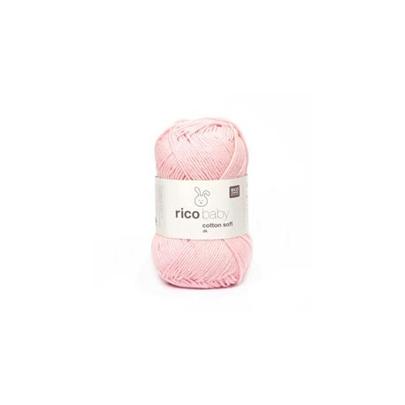 Baby Cotton Soft Pastel Rose 50G/125M