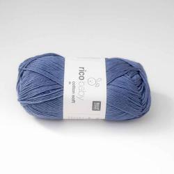 Baby Cotton Soft Bleu Jean 50G/125M