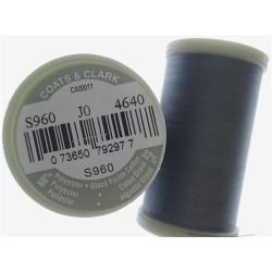 Bobine de 297m de fil Dual Duty à quilter - Bleu Gris (Coloris 4640)