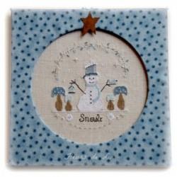 Fleurs de Lin -  Snwoly le petit bonhomme de neige