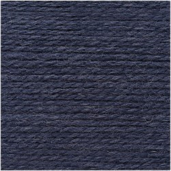 Laine Creative Soft Wool Aran - Coloris Bleu marine ou 026