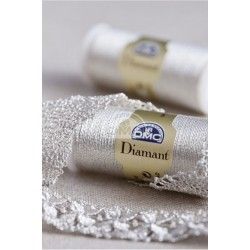Fil à broder Diamant DMC - Argent clair D168
