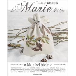 Les Editions de Saxe - Les Broderies de Marie & Cie - Un bel Hiver