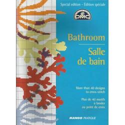 DMC - Livre motifs Bathroom - Salle de bain
