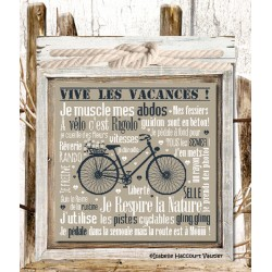 """Isabelle Haccourt Vautier """"A vélo c'est rigolo"""""""