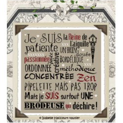 """Isabelle Haccourt Vautier """"Je suis une Brodeuse"""""""