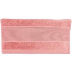 Rico Design - Serviette de toilette à broder coloris rose fushia