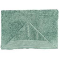 Sortie de bain avec capuche coloris vert outremer