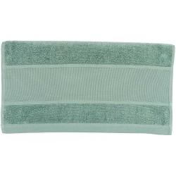 Serviette de toilette coloris vert outremer
