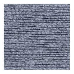 Fashion Silk Blend Dk coloris bleu