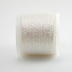 Rico Design : Fil à broder Metallique No. 480 Blanc